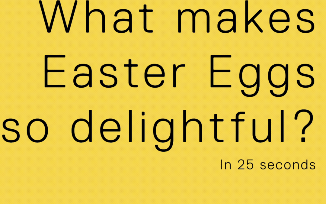 How to create delightful Easter eggs