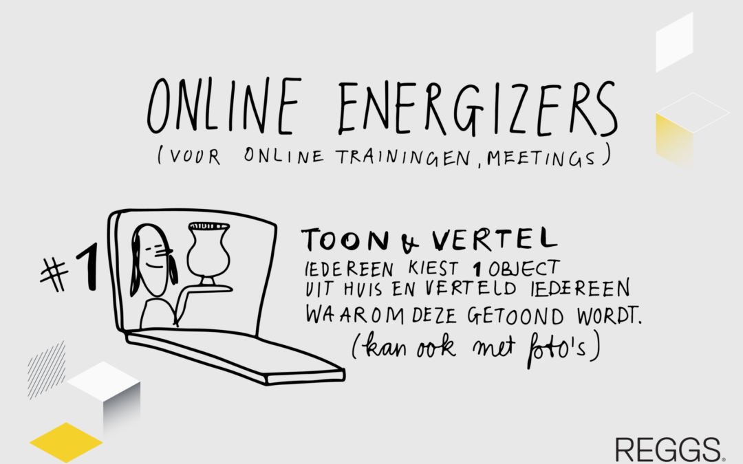 Creatief in quarantaine: Let's get energized!